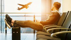 bagagli passeggero aeroporto